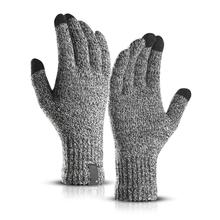 Ветрозащитные уличные теплые походные Зимние перчатки для сенсорного экрана бархатные перчатки для велоспорта