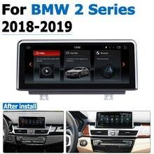 Android 80 Автомобильный gps navi экран для bmw 2 серии 2018