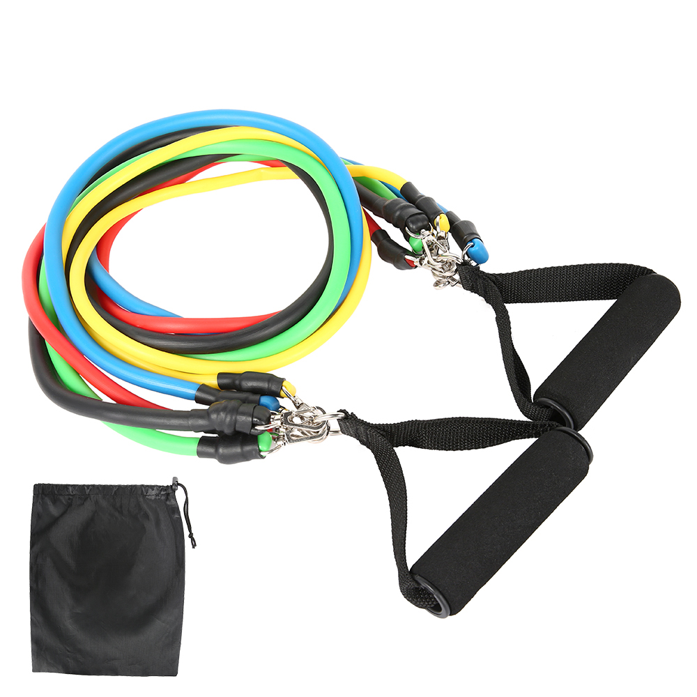 11-13pcs Fitness Resistance Bands 13