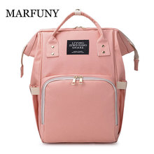 Fashion Brand Large Capacity Baby Bag Waterproof Travel Backpack Designer Nursing Bag for Baby Mom Backpack Women Carry Care Bag