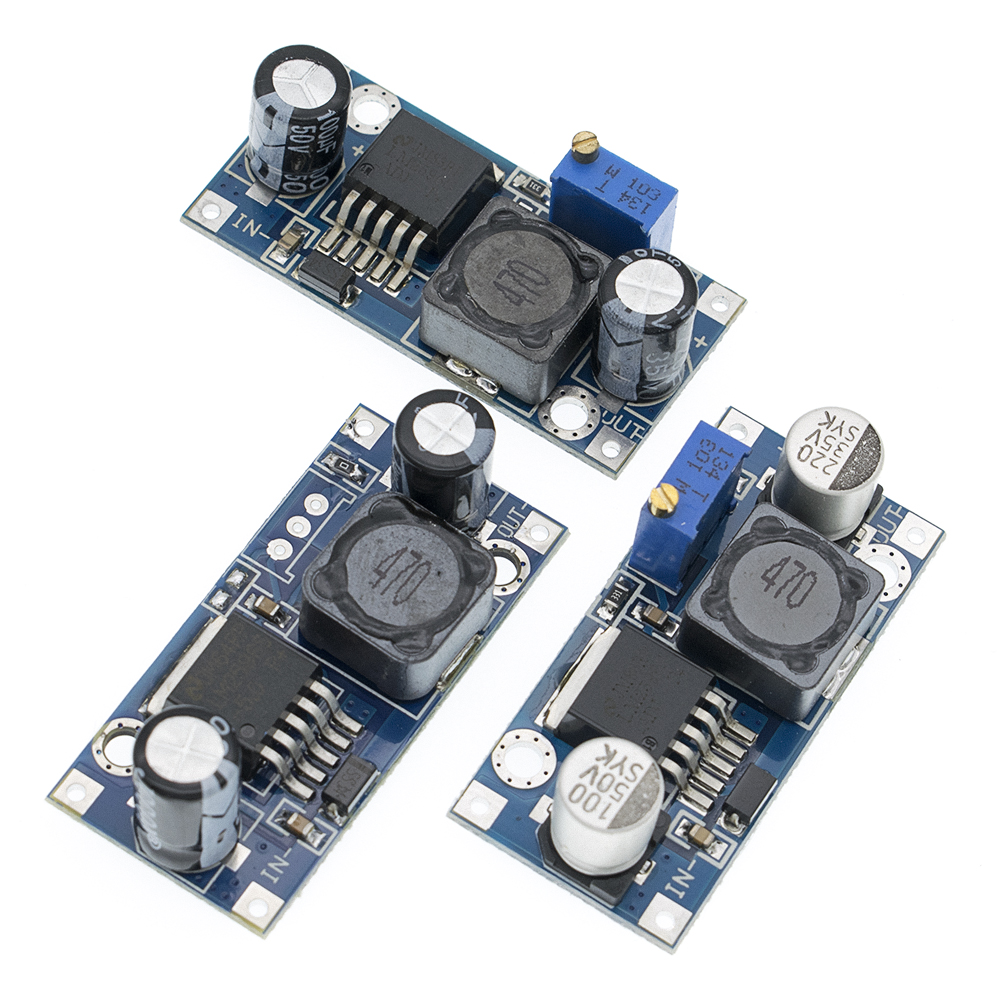 Image 5 - 100pcs LM2596 LM2596S ADJ DC DC 4.5 40V adjustable/5V step down power Supply module 5V/12V/24V-in Integrated Circuits from Electronic Components & Supplies