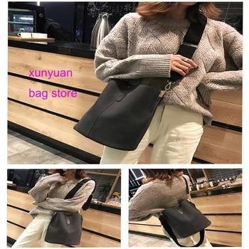 Women Bag Vintage Casual Tote Top-Handle Women Messenger Bags Shoulder Handbag Purse Wallet Leather