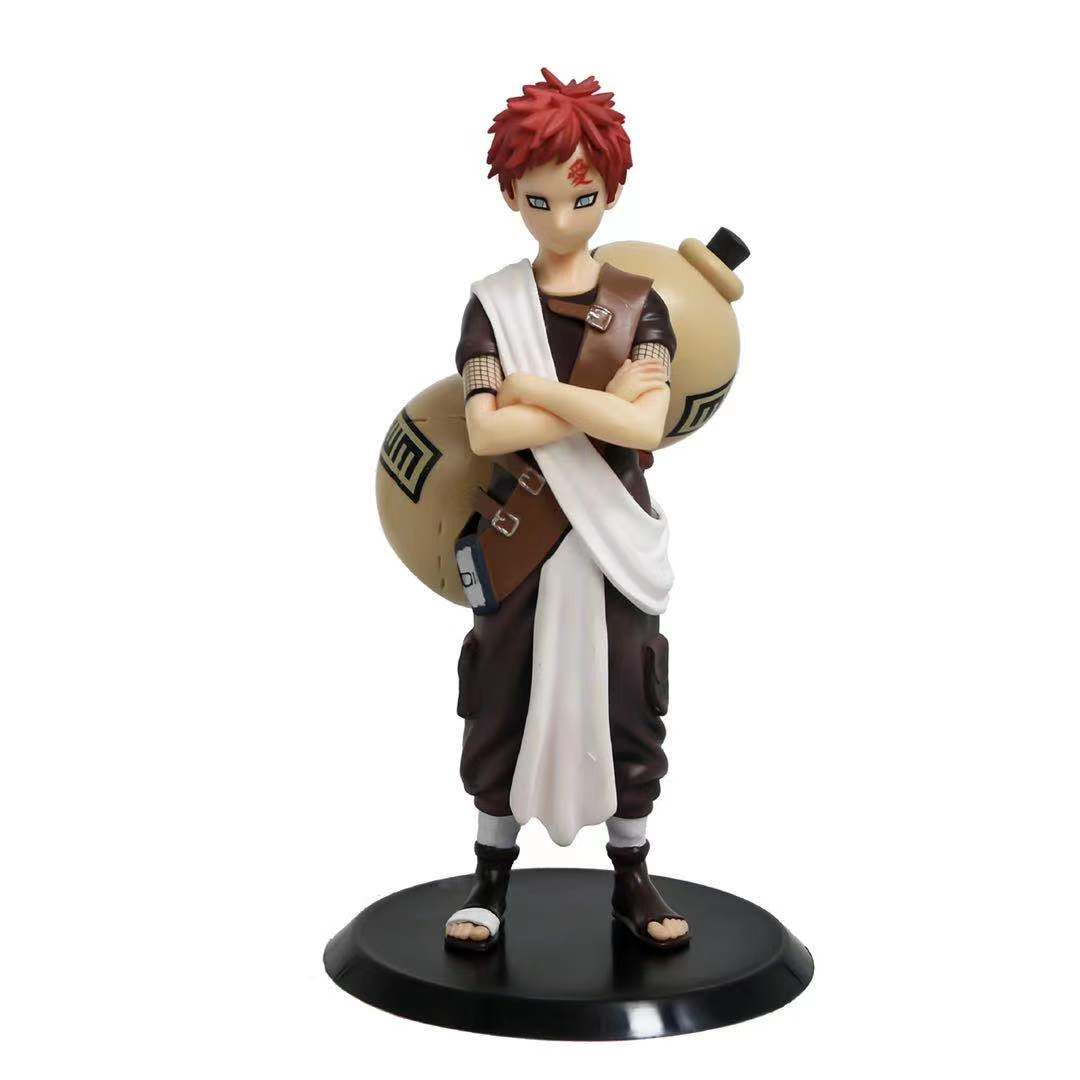 Naruto 20cm 10 hundred Ren, I love Luo, handmade, decoration, modeling GK Sand Shadow, Sand Ninja, big gourd collection