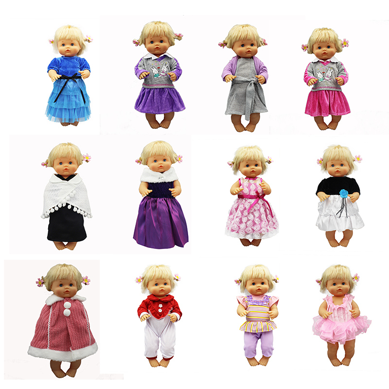 12 Style Choose Doll Clothes Fit 42cm Nenuco Doll Nenuco Su Hermanita Doll Accessories