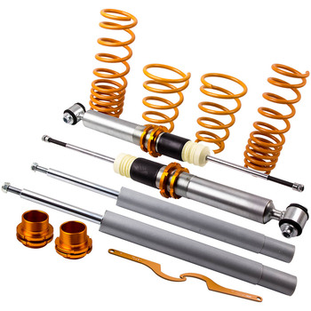 Adjustable Coilover Full Kit for BMW 5 Series E34 540 535 525 Coil Spring Strut for 525i 530i 540i Saloon 88-97 Coilovers Spring image