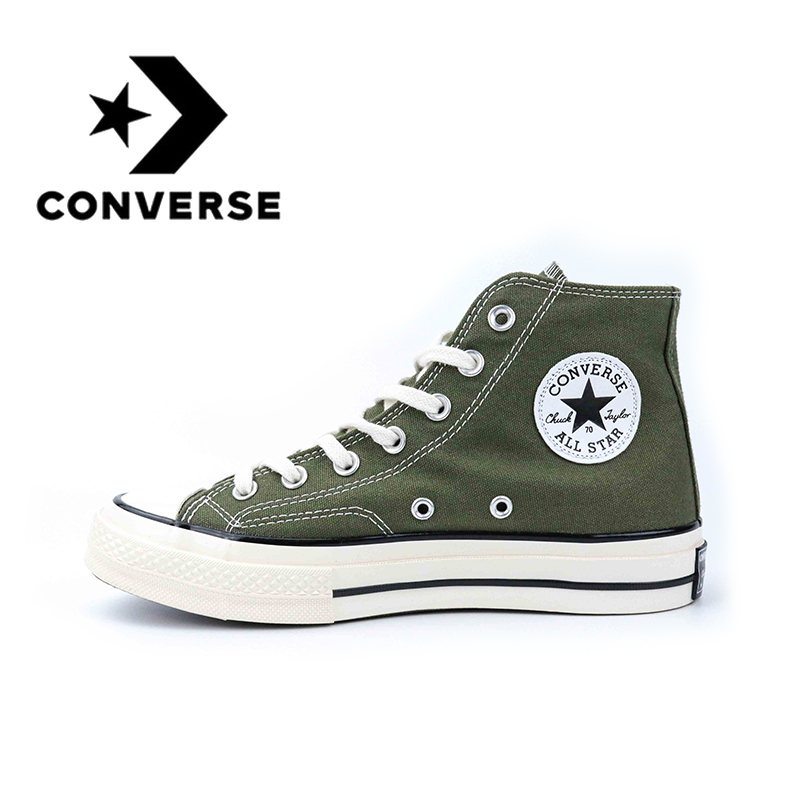 Converse All Star  Hi Skateboarding Shoes Original Classic Unisex Canvas High Top Anti-Slippery Comfortable Breathable Sneaksers