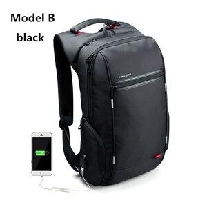 Image 3 - Kingsons KS3140 ผู้ชายผู้หญิงแล็ปท็อปกระเป๋าเป้สะพายหลังเดินทางโรงเรียนกระเป๋าBackpackwith USBหลายฟังก์ชั่นกันน้ำ