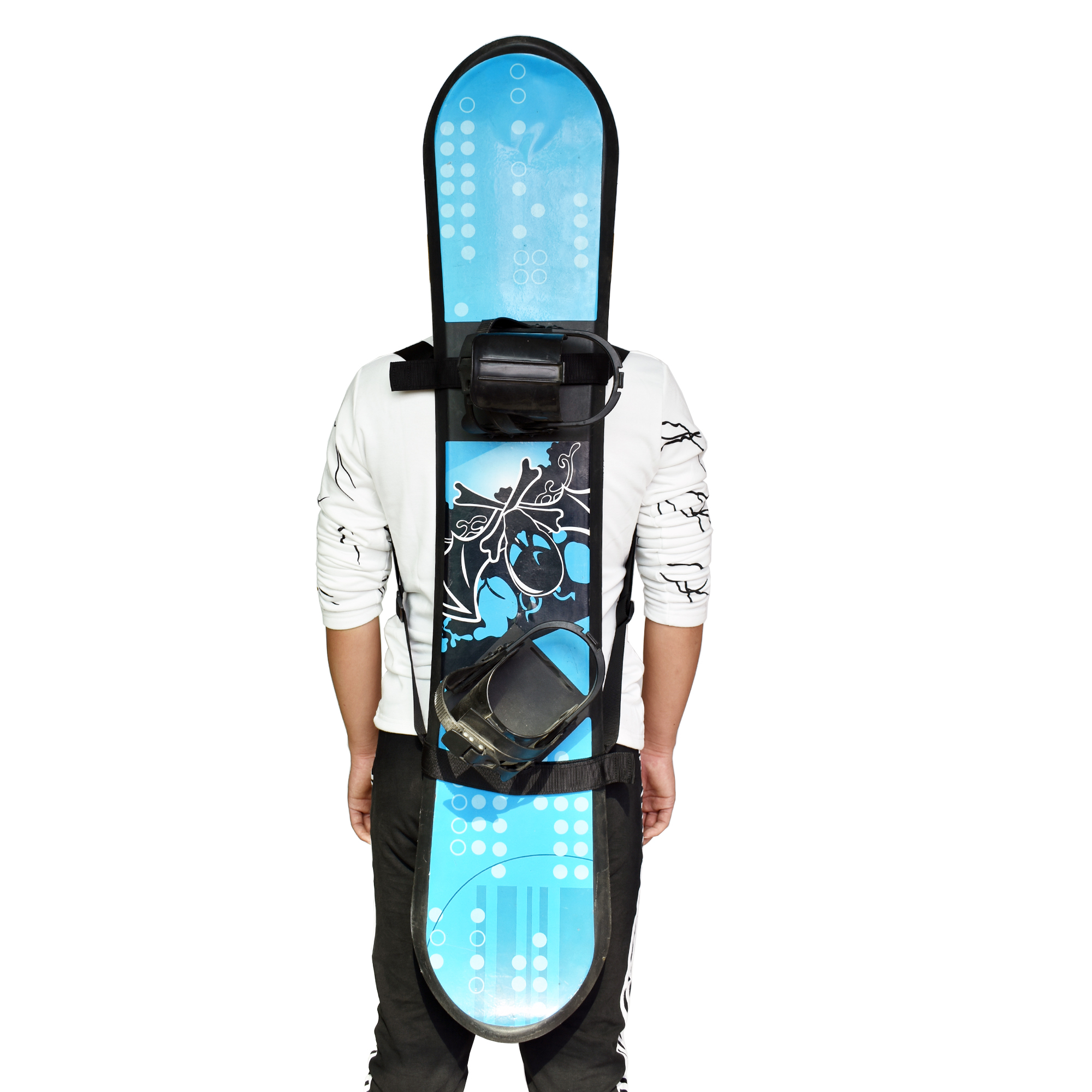 Snowboard Backpack Shoulder Strap Snowboard Backpack Carry Strap Snowboard Carrier - No Board -NEW STYLE