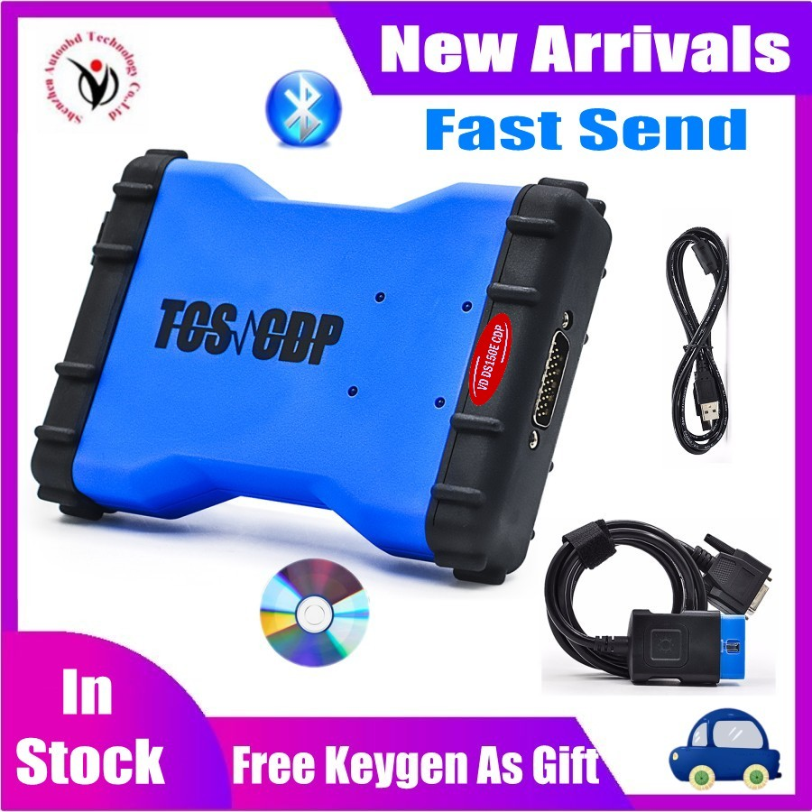 2020 NEW VCI Vd Ds150e Cdp VD DS150E CDP Keygen Best Relay With Bluetooth For DELPHIS Cars & Trucks Obd2 Diagnostic Repair Tool
