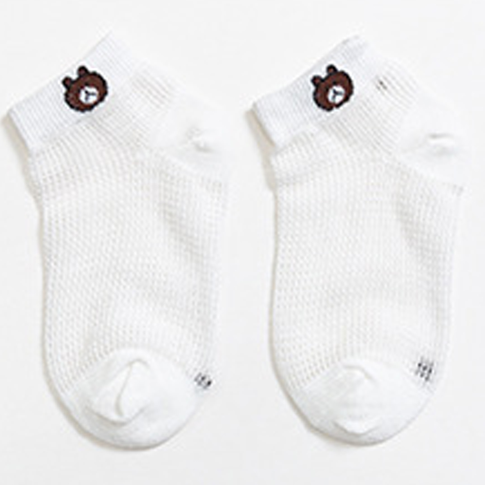 meias de bebe curtas fofas urso 01