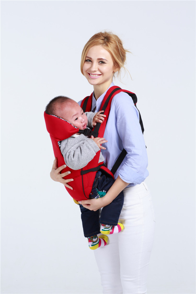 Baby Bag Multi Purpose Strap Cotton Four Seasons Breathable Fabric One Shoulder Safety Comfortable Shoulder Baby Carrier in Backpacks Carriers from Mother Kids