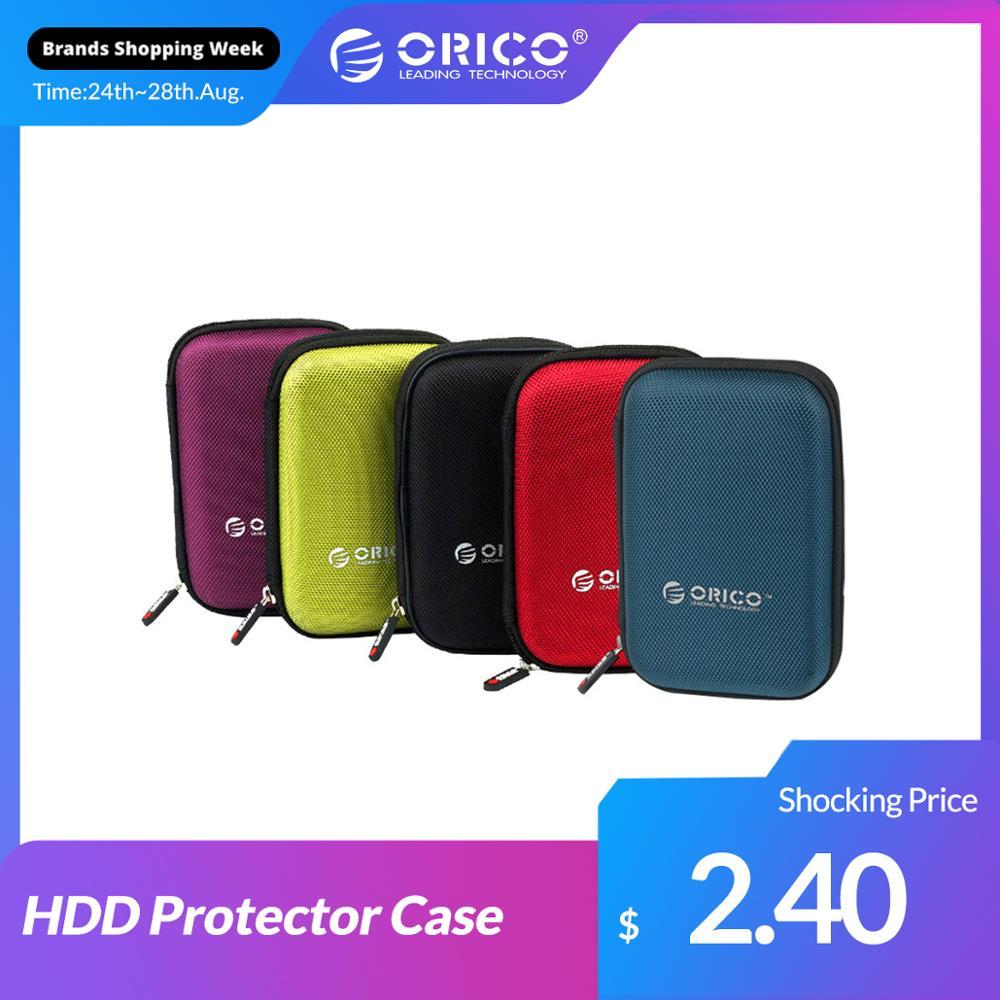 ORICO 2.5 pouces Portable externe disque dur sac de Protection double couche tampon HDD étui de Protection doctorat