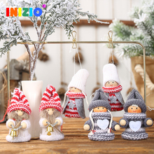 christmas decoration tree decor new year 2020 santa cruz for home 2pcs
