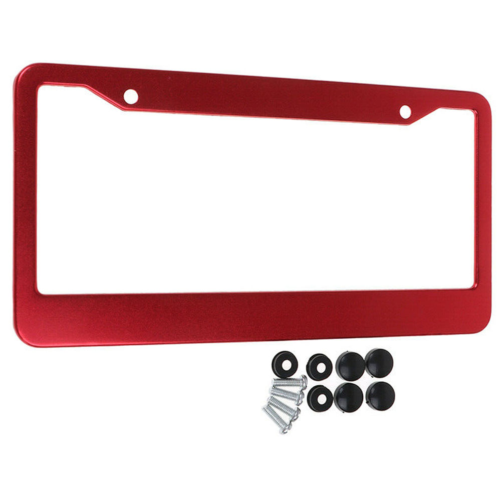 2020 New Hot Sale High Quality Universal US Car Aluminum License Plate Frame Cover Auto Accessory Waterproof