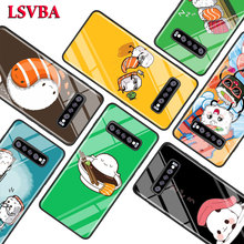 Sushi Pug for Samsung Galaxy Note 10 9 8 Pro S10e S10 5G S9 S8 S7 Plus Super Bright Glossy Phone Case Cover