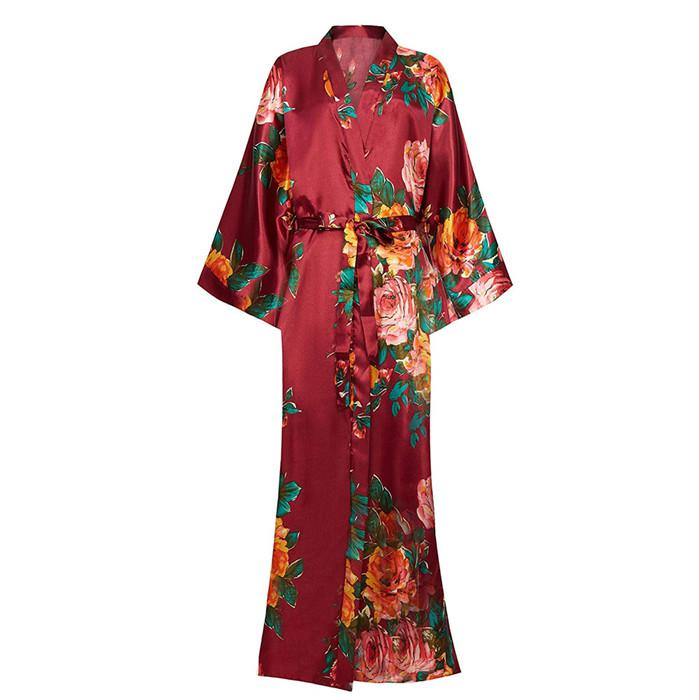 For-Female-Print-Flower-Satin-Spring-Sleepwear-Intimate-Lingerie-Kimono-Bathrobe-Gown-Home-Clothing-Large-Size (4)