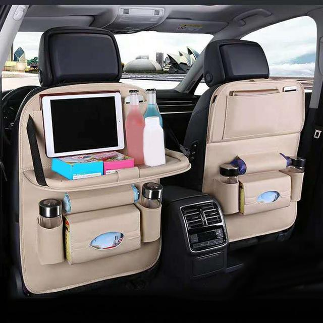 Фото автомобильный мульти карманный сиденье подвесная сумка органайзер