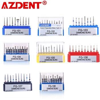 1 pack Dental Diamond Burs Drill for High Speed Handpiece Dentist Burs FG series Dia.1.6mm