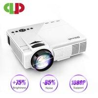 Мощный Q5 светодиодный проектор 720P Full-HD мини-проектор 800*600 беспроводной синхронизация дисплей с телефоном Wifi Proyector 4k домашний кинотеатр
