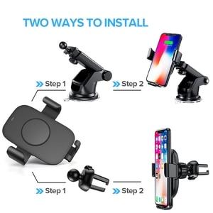 Image 3 - Dcae 10W Không Dây Nhanh Chóng Sạc Trên Ô Tô Cho iPhone 11 XS XR X 8 Tề Sạc Giá Đứng Trọng Lực Xe Ô Tô giá Đỡ Điện Thoại Dành Cho Samsung S10 S9