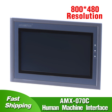 7 HMI AMX-070C Touch Screen Replace Samkoon SK-070E Human Machine Interface Touch Panel
