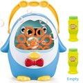 ペンギン全自動バブル機送風機水吹いおもちゃ石鹸屋外の子供のおもちゃ親子の対話のおもちゃ子供のため