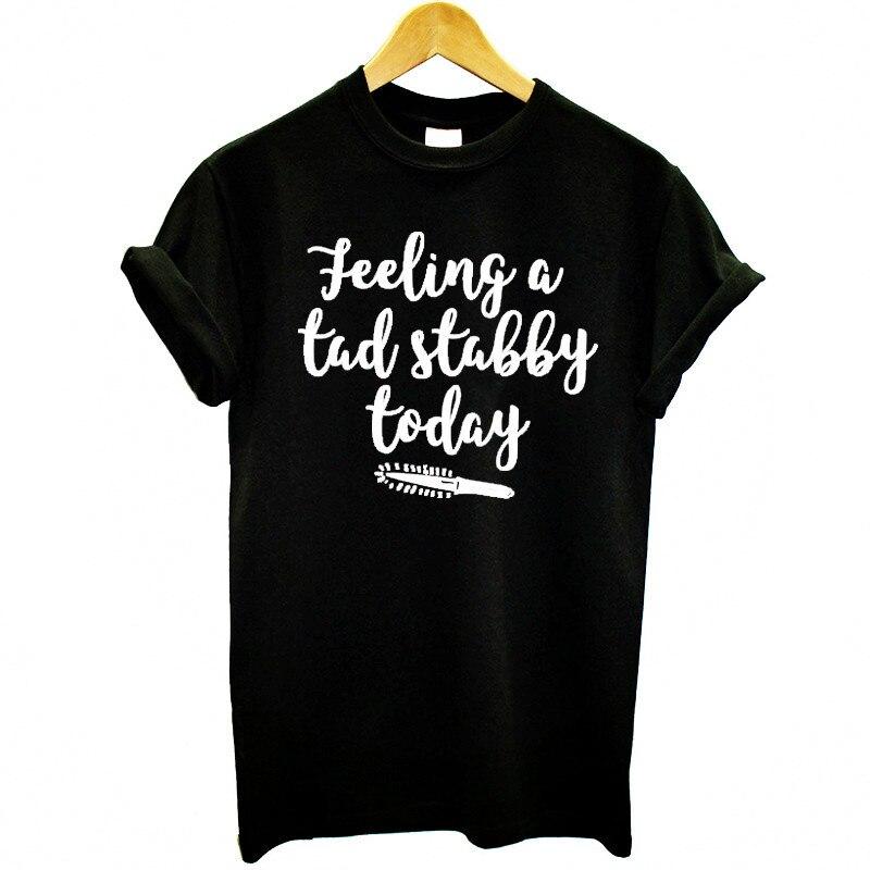 Женская футболка с коротким рукавом, круглым вырезом и надписью Today