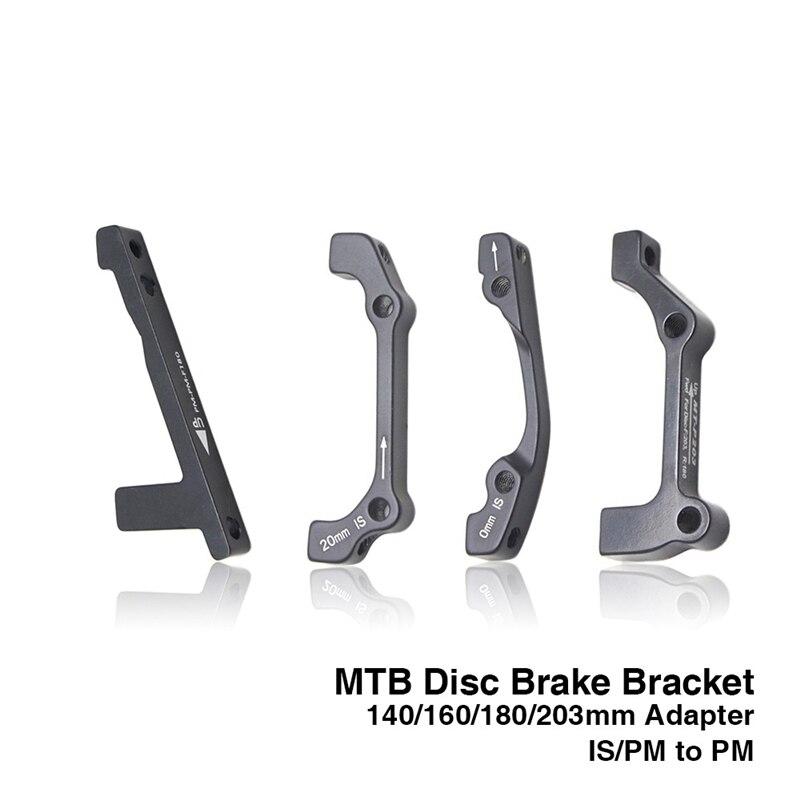 MTB Disc Brake Mount Adapter Ultralight Bracket Hydraulic IS PM A B to PM A Disc Brake Mount Adapter for 140 160 180 203mm rotor