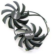 FDC10H12S9-C 86mm 0.35A 4Pin For XFX R9 270X 280X 290X Graphics Card Cooling Fan