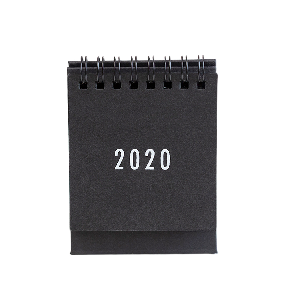 2020 Plan Schedule Gift Monthly Metal Coil Daily Planner Study Mini Table Calendar To Do List Decoration School Home Desk Agenda