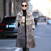 Women's Real Fur Coat Natural Double faced Female Wool Jacket Autumn Winter Mink Fur Coat Women Clothes 2020 Korean Vintage Tops