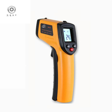 GM320 Infrared Thermometer Digital LCD Display Non-contact -50~380 Degree Temperature Analysis Test Laser Point Gun