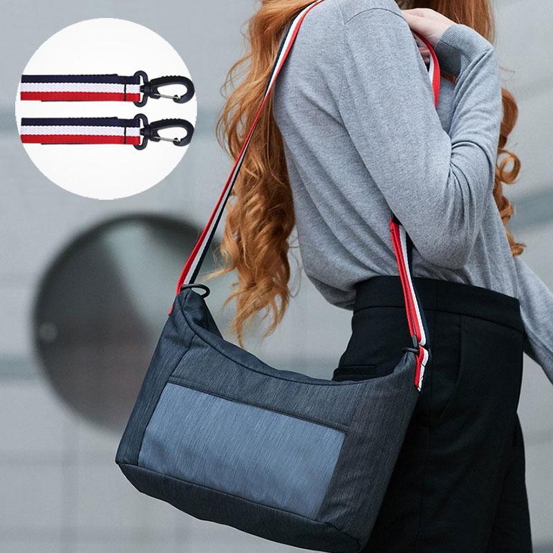 Diaper Bag Mommy Bag With Stroller Hook Baby Sling Bag Large Capacity Nappy Shoulder Bag Waterproof Light Nylon Organizer