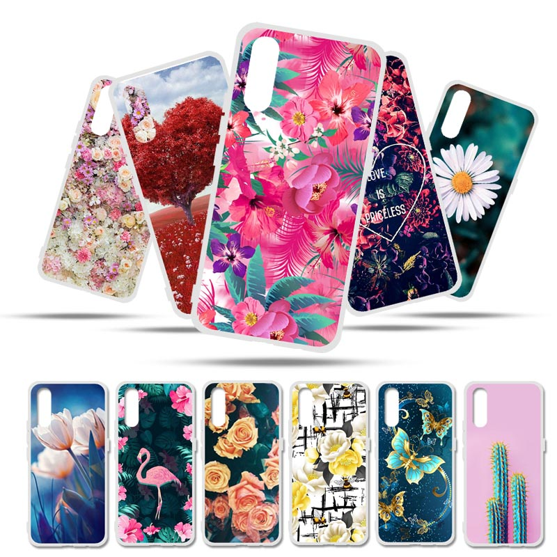 Painted Case For Vivo Iqoo Neo Case Silicone Soft TPU Cases For Vivo Iqoo Neo 855 Cover Wildflowers Cute Animal Bags