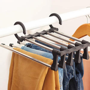 Organizer Rack Shawl Belt Hanger-Holder Clothing Adjustable Multi-Layer Tie 1pc Trouser
