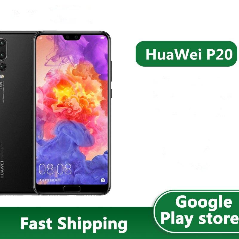 Глобальная прошивка вариант HuaWei P20 4 аппарат не привязан к оператору сотовой связи Android телефон 24.0MP + 20.0MP + 12.0MP Kirin 970 OTA 5,8