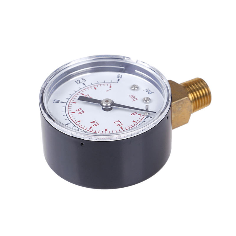 22/25/40/50mm Diameter Pressure Gauge Low Pressure For Fuel Air Oil Gas Water Oil Gas Measurement