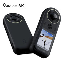 Kandao Qoocam 8K 360 VR Action Camera with 2.4 Inch Touch Screen 4K 360 Live Streaming 8K 30fps 4K 120fps APS-C Image Quality(China)