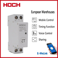 HOCH RDCBC-1P не WIFI автоматический выключатель Пульт дистанционного управления eWeLink таймер умный дом din-рейка WIFI умный выключатель завод