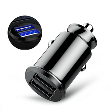 Dual USB Car Charger 3.1A Fast Car Charging Auto Charge Adapter For iPhone Samsung USB Car-Charger Phone Charger Adapter in Car scud car charger dual usb output 2 4a fast charging mobile phone travel adapter for iphone samsung galaxy xiaomi htc car charge