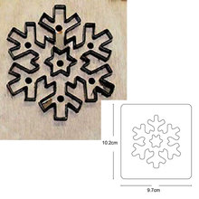 Christmas Snowflake & Scrapbook Cut Sky&Steel Wooden Die Cutting Dies Suitable for Common Die-cutting Machines in the Market carbon steel christmas glove cutting die for diy