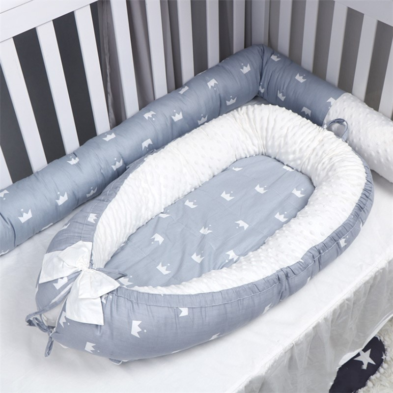 Washable Baby Nest Bed Portable Crib With Mattress Newborns Cot Bed Bebe Nest