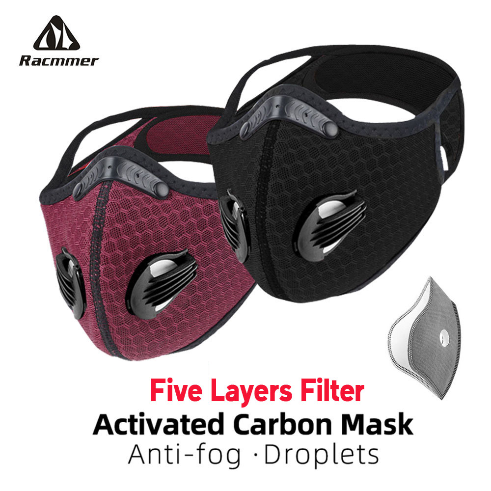 Racmmer Cycling Face Mask...