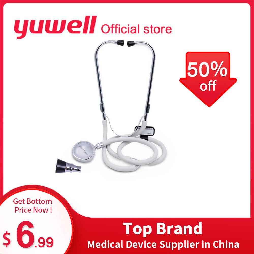 Yuwell Professional หูฟังมัลติฟังก์ชั่ HEAD Cardiology Rate Lung อุปกรณ์การแพทย์หัวใจทารกในครรภ์ Health Care Monitor