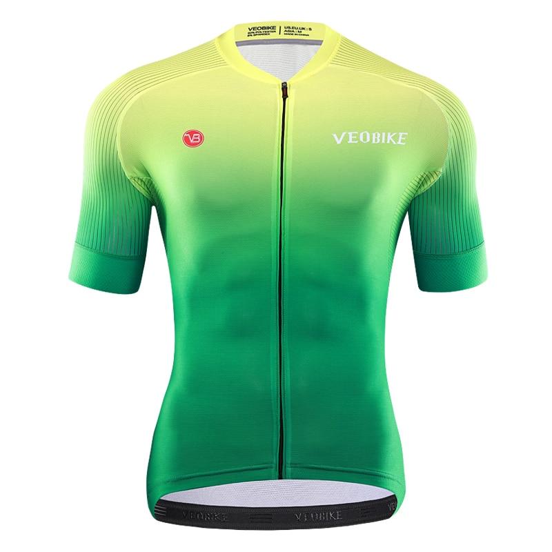 Mens Short Sleeve Bike Cycling Jersey Team MTB Bicycle Shirt Clothing Race Wear