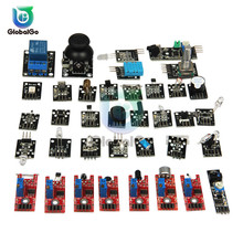 35  in 1 Sensors Modules Starter Kit for arduino Switch Module Temperature Sensor Board reed switch sensor module for arduino works with official arduino boards
