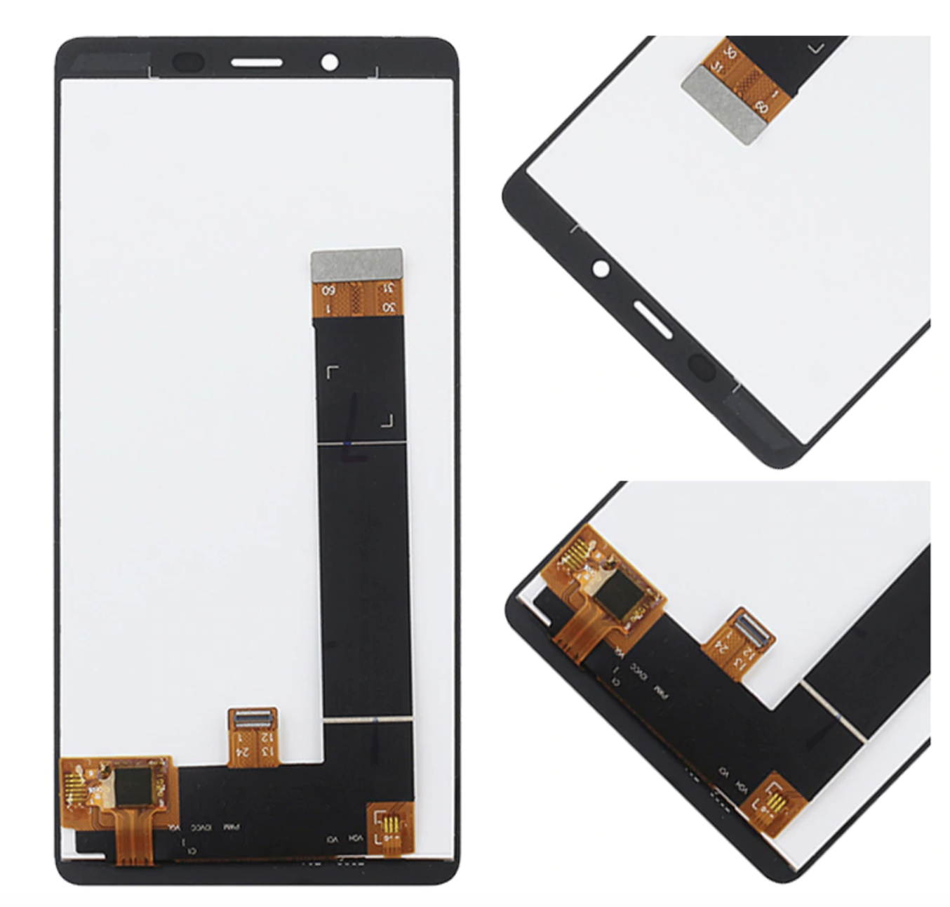 AAA+ Quality LCD Display Digitizer Touch for <font><b>Nokia</b></font> <font><b>1</b></font> <font><b>Plus</b></font> <font><b>TA</b></font>-<font><b>1130</b></font> <font><b>TA</b></font>-1111 <font><b>TA</b></font>-1123 <font><b>TA</b></font>-1131 LCD Screen Replacement+free tools image