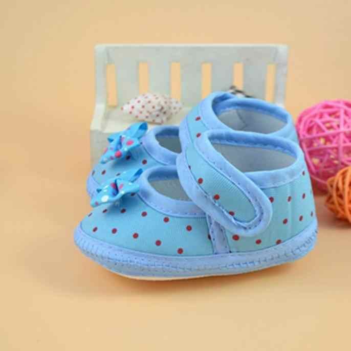 Newborn Baby Bowknot Boots Soft Crib Shoes First Walkers Booties Cotton Comfortable Anti-slip Toddler Kids Girl Footwear Shoes