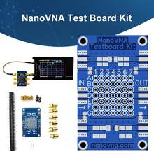 NanoVNA Testboard Sets, placa de demostración, Vector Network Analizador de pruebas Pc66 X8Z1(China)
