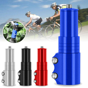 Aluminum Alloy Bike Handlebar Fork Stem Riser Rise Up Extender Extension Heads Up Bicycle Adaptor Durable Part Bike MTB Mountain ztto bicycle swallow shaped aluminum alloy handlebar 31 8 35 780 mm mtb mountain bike bicycle rise 780mm longer handlebar